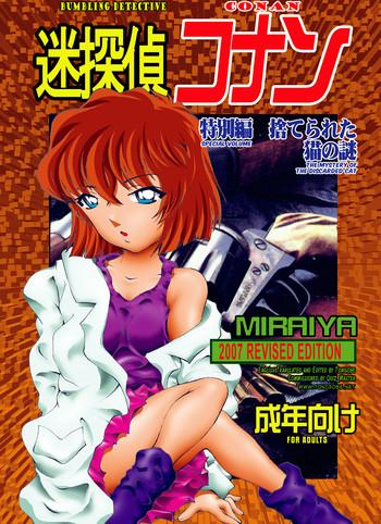 bumbling detective conan special volume the mystery of the discarded cat cover