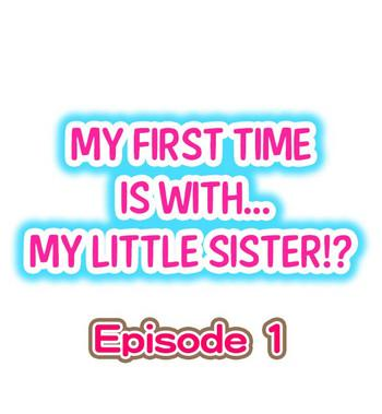 my first time is with my little sister cover